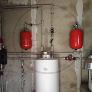 Монтаж бойлера отопления